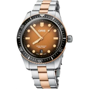 Oris Divers Sixty-Five Bracelet Watch Sunburst 42mm
