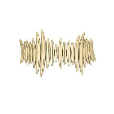 Shaun Leane Yellow Gold Vermeil Quill Multi Bracelet