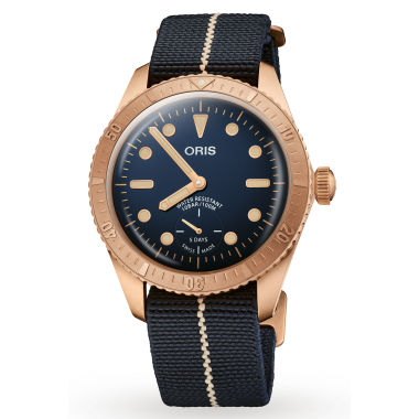 Oris Divers Carl Brashear Calibre 401 Limited Edition 40mm