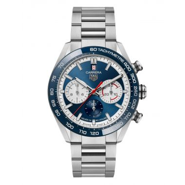 Tag Heuer Carrera 160 Years Blue Limited Edition 44mm - CBN2A1E.BA0643