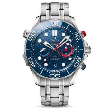Omega Seamaster Diver 300m Master Chronometer 44mm America's Cup
