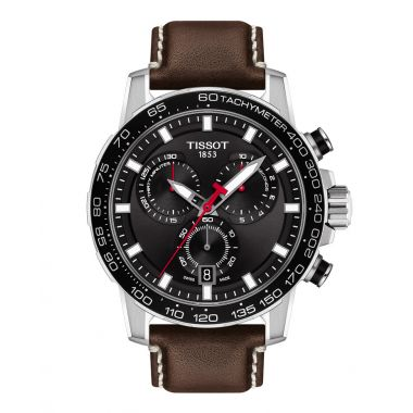Tissot Supersport Chronograph Leather 45.5mm