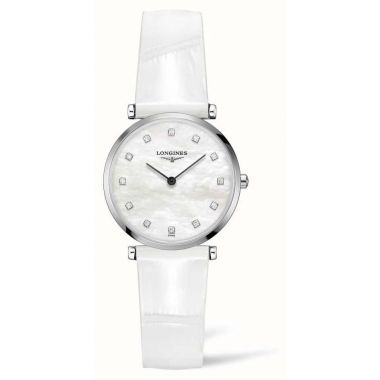 Longines La Grande Classique White Leather Strap 29mm