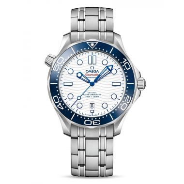"""Omega Seamaster Diver 300M Master Chronometer """"Tokyo 2020"""" Special Edition Watch"""
