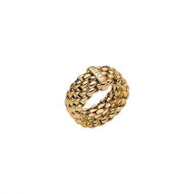 Fope Flex'It Essentials 18ct Yellow Gold Ring