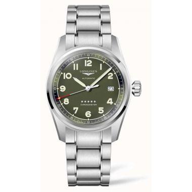Longines Spirit Automatic Chronometer Green Dial 40mm