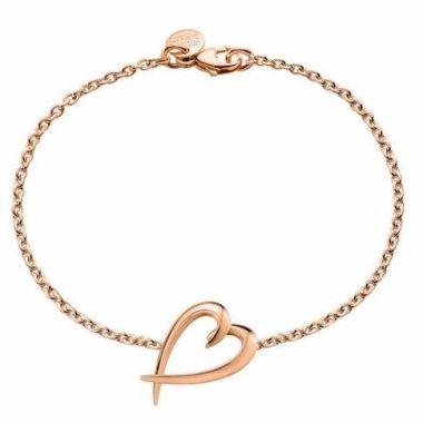 Shaun Leane Rose Gold Vermeil Heart Bracelet