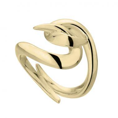 Shaun Leane Yellow Gold Vermeil Hook Ring