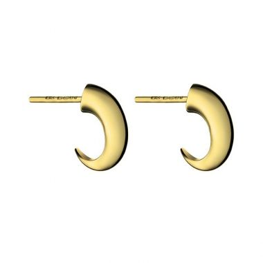 Shaun Leane Yellow Gold Vermeil Cat Claw Hoop Earrings