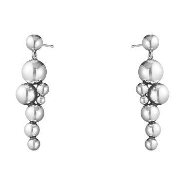 Georg Jensen Moonlight Grapes Earrings, Oxidised Sterling Silver