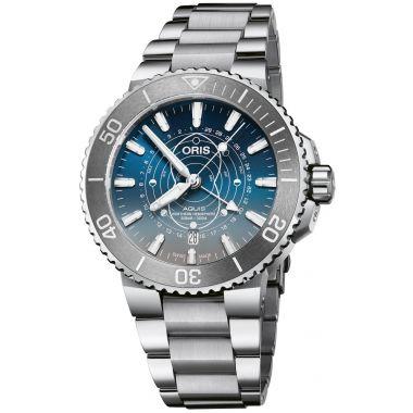 Oris Aquis Dat Watt Limited Edition Watch 43.5mm