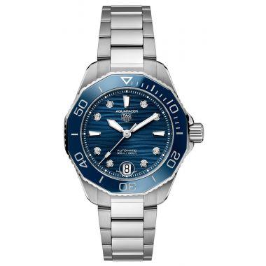 Tag Heuer Aquaracer Professional 300 Blue Diamond Dial 36mm