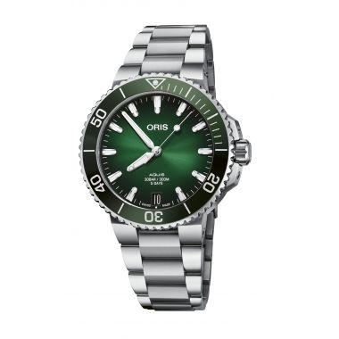 Oris Aquis Date Calibre 400 Green Watch 41.5mm
