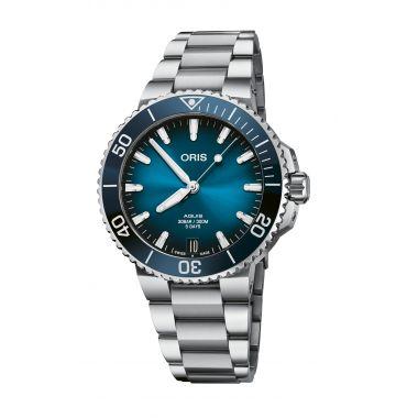 Oris Aquis Date Calibre 400 Blue Watch 41.5mm