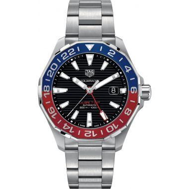 Tag Heuer Aquaracer Calibre 7 GMT 43mm WAY201F.BA0927