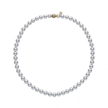 Mikimoto Yellow Gold Classic 7.5mm Pearls
