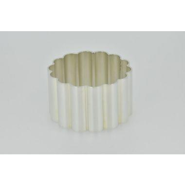 Silver Napkin Ring Reed