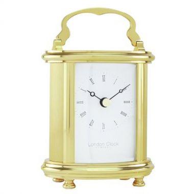 London Clock Solid Brass Clock