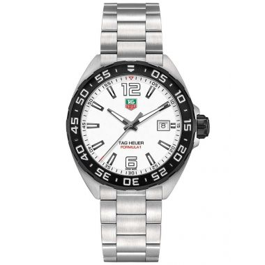 Tag Heuer Formula 1 White 41mm
