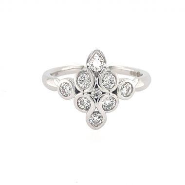 Diamond Mirage 0.63ct 18ct Ring