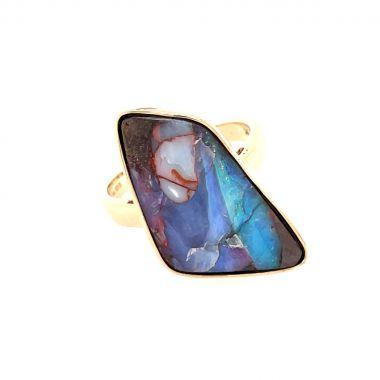 Opal Winton Boulder 9ct Ring