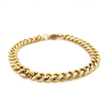 Curb Link 9ct Bracelet