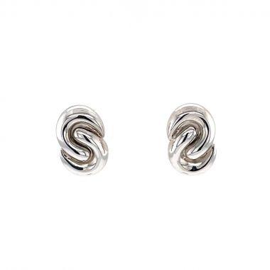Swirl 9ct Design Earrings