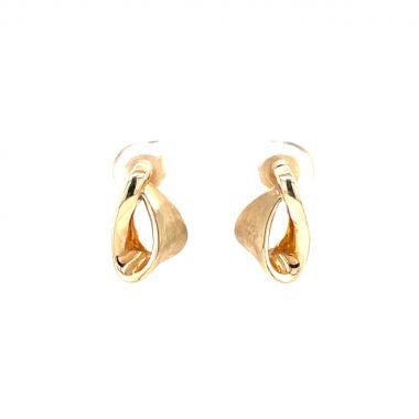 Yellow Gold 9ct Drop Earrings