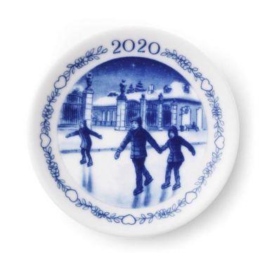 Royal Copenhagen Annual Plaquette 8cm 2020