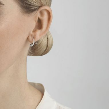 Georg Jensen Mercy Swivel Earrings, Sterling Silver