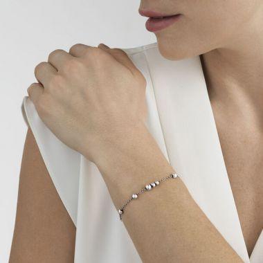 Georg Jensen Moonlight Grapes Bracelet, Sterling Silver