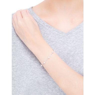 Mikimoto Pearl Chain Bracelet - White Gold
