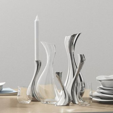 Georg Jensen Cobra Carafe Clear Glass