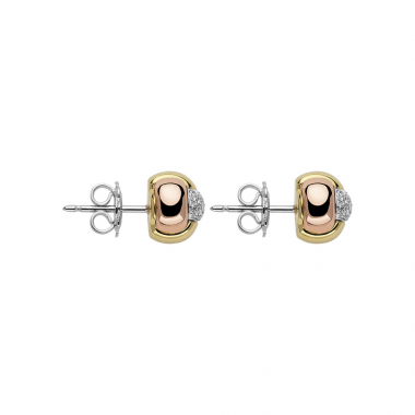 Fope EKA Tiny 18ct Diamond Earrings