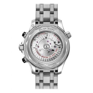 Omega Seamaster Diver 300m Master Chronometer Chronograph Black 44mm