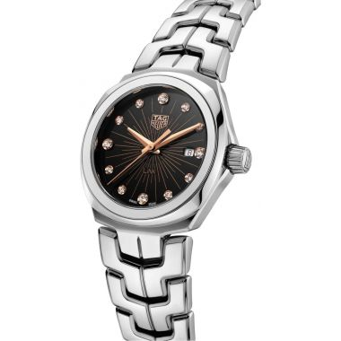 Tag Heuer Link Ladies Black and Rose 32mm