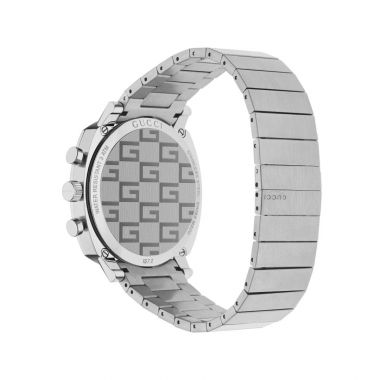 Gucci Grip Steel Chronograph Watch 40mm