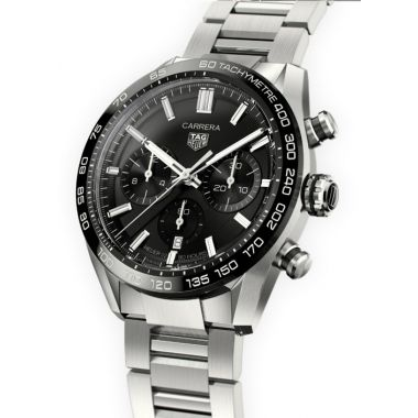 Tag Heuer Carrera Heuer 02 Automatic Chronograph Black 44mm