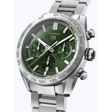 Tag Heuer Carrera Heuer 02 Automatic Chronograph Green 44mm