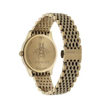 Gucci G-Timeless Bee Motif Gold 36mm