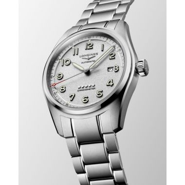 Longines Spirit Automatic Chronometer Silver Dial 42mm