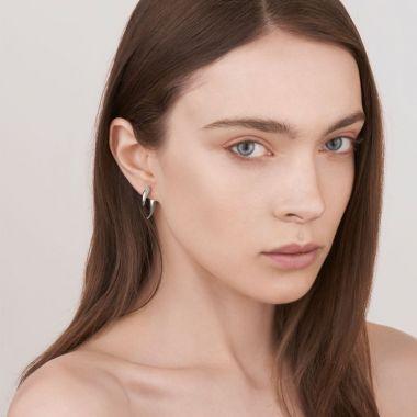 Shaun Leane Silver Talon Earrings