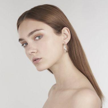 Shaun Leane Silver Hook Hoop Earrings