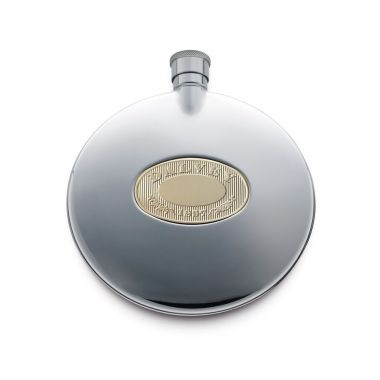 Dalvey Flask with Cup Gold