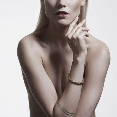 Shaun Leane Serpent Trace Yellow Gold Vermeil Slim Bracelet