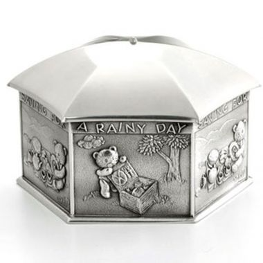 Saving for a Rainy Day Coin Box