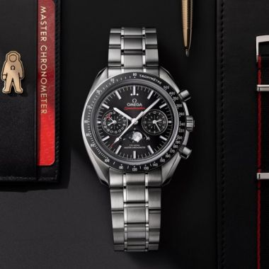 Omega Speedmaster Moonwatch Master Chronometer Moonphase 44.25mm
